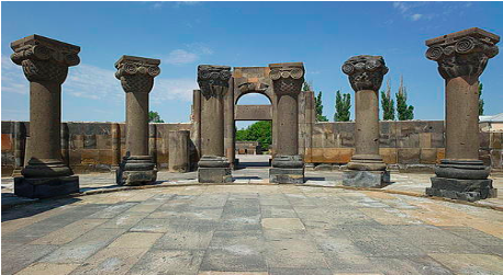 Figure 4: Columns of the Etchmiadzin Cathedral