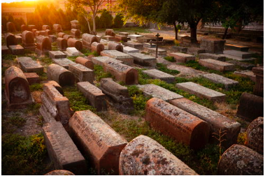 Figure 10: Etchmiadzin Cathedral burial Grounds