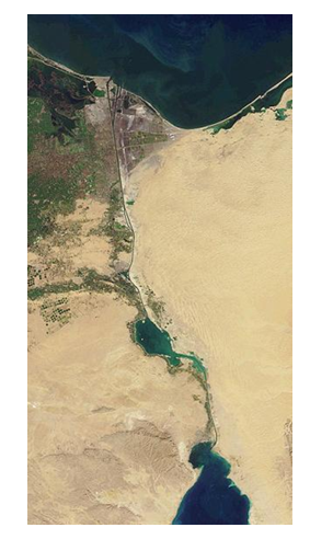 The Suez Canal has been established as a great waterway