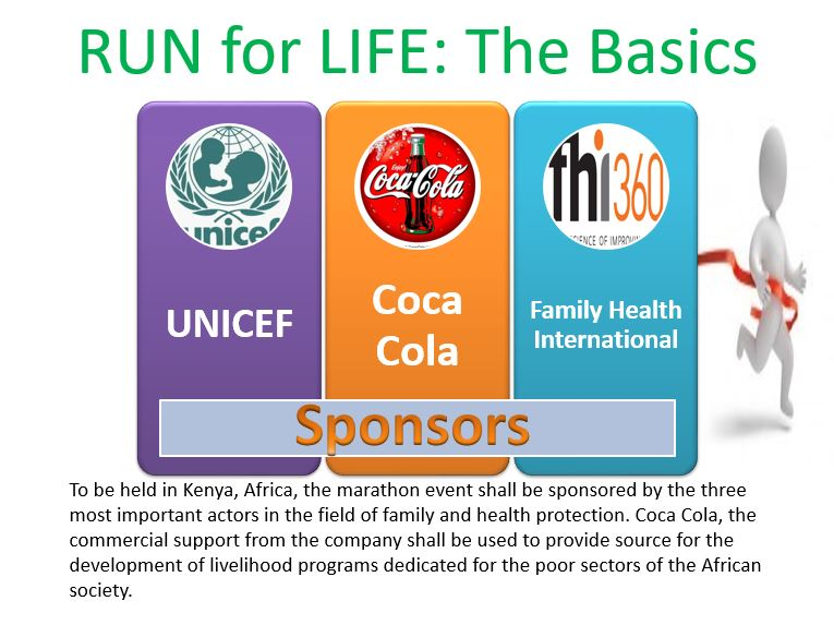 Run for Life, Power Point Presentation Example