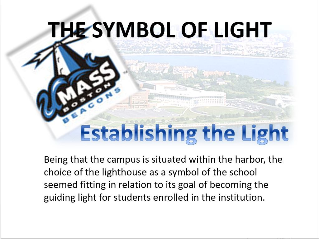 The Culture of UMass Boston, Power Point Presentation With Speaker Notes Example