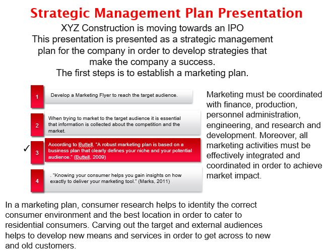 Strategic Management Plan Presentation
