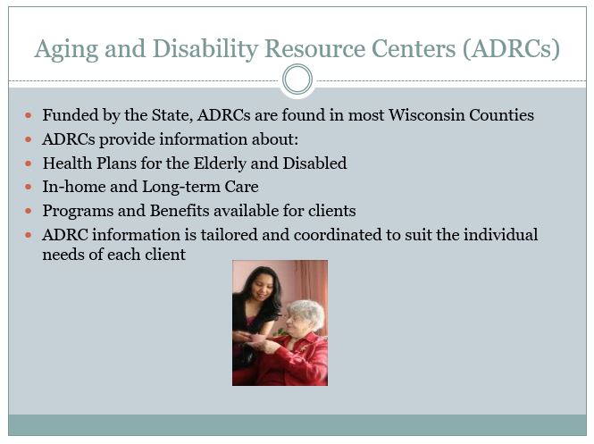 Aging and Disability Resource Centers