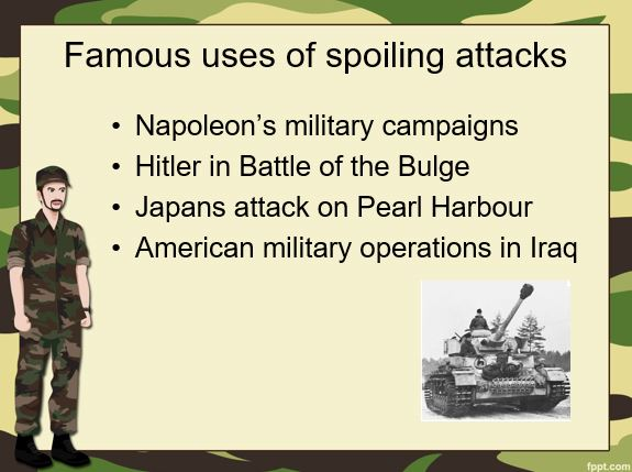 Famous uses of spoiling attacks