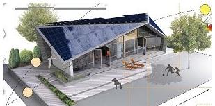 Figure 1 Solar Project House