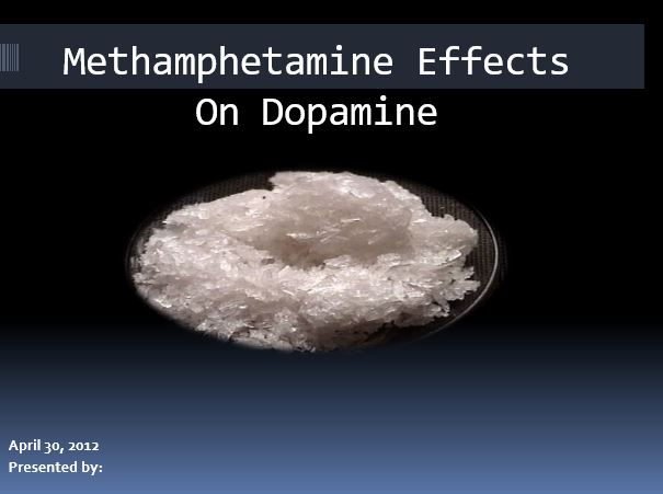 Methamphetamine Effects