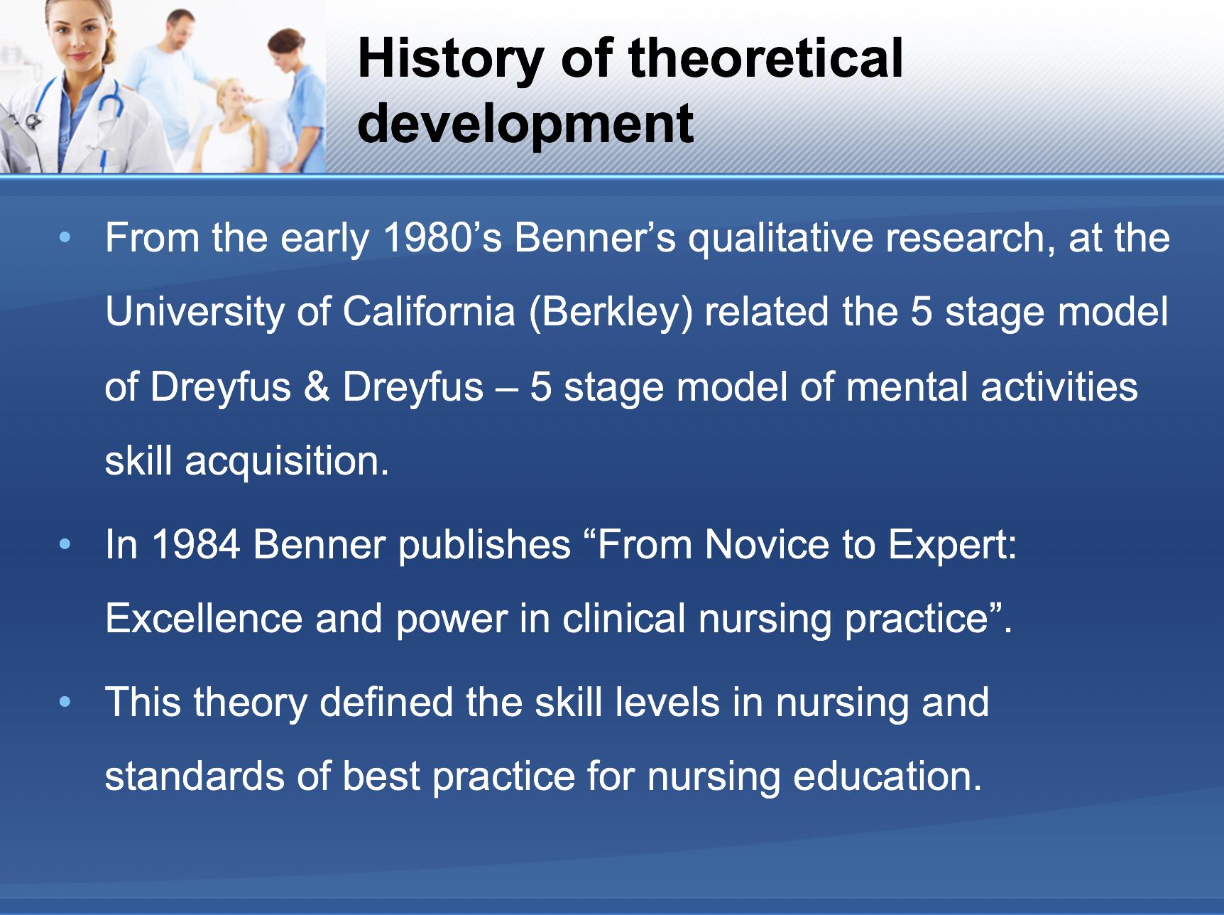 History of theoretical development