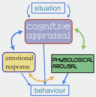 Example of Emotional Response through Cognition